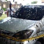 Kecewa Diberhentikan dari Kerjaan, Pemuda di Denpasar Bakar Mobil-Warung